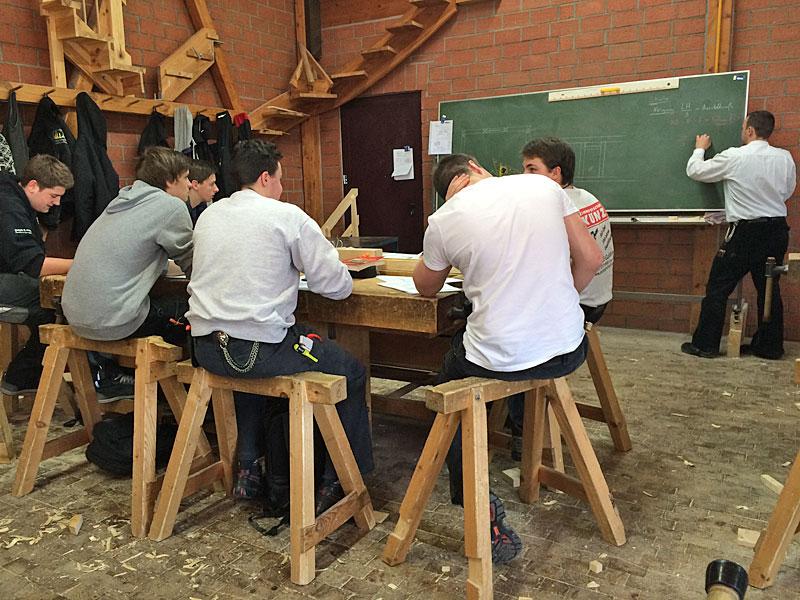 2. Ausbildungsjahr: Holzbau Baden-Württemberg