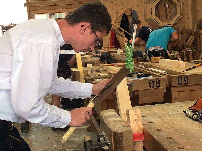 3. Ausbildungsjahr: Holzbau Baden-Württemberg